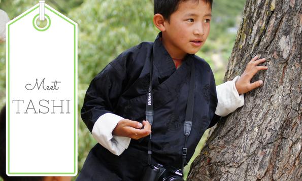Meet Tasha, Ana by Karma photography project in Bhutan. Be part of it.