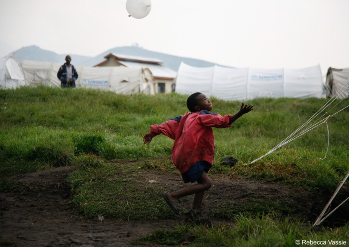 Boy with a Glove Balloon - Portraits from South Sudan - The Rebecca Vassie Memorial award interview on PhotoAid Global F8